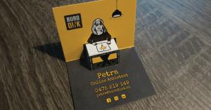 Kracht van een visitekaartje - Buro Dink