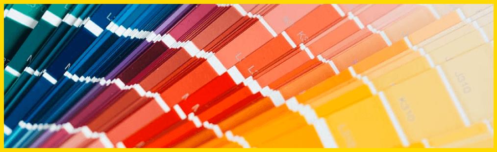 Gebruik de juiste kleuren om je branding op je website up to date te houden.