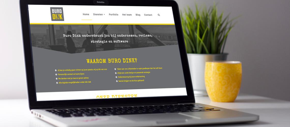 Basis elementen website - Buro Dink